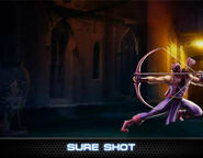 Hawkeye Level 1 Ability