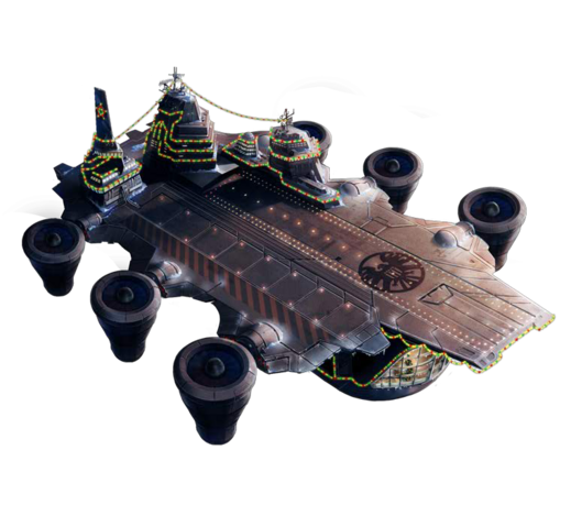 File:Helicarrier with Christmas Theme.png