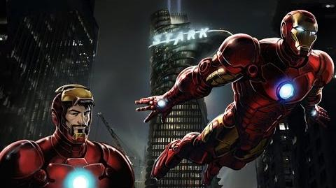 IRON MAN's Moves Set - Marvel Avengers Alliance - Conjunto de Movimientos de El Hombre de Hierro