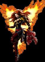 Phoenix Five Phoenix Right Portrait Art