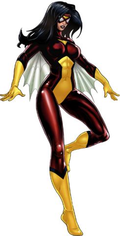 File:Spider-Woman Portrait Art.png
