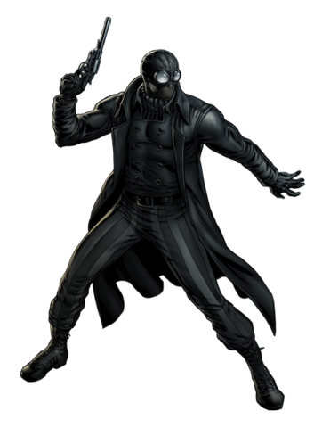 File:Spider-Man Noir Portrait Art.png