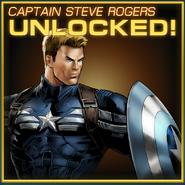 Captain Steve Rogers Unlocked