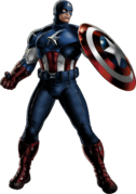 Avengers Captain America Portrait Art