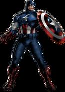 Avengers Captain America Portrait Art