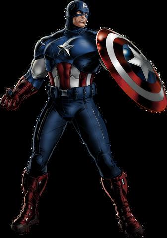 File:Avengers Captain America Portrait Art.png