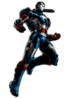 Iron Patriot Portrait Art