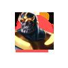 Thanos (Blaster) Group Boss Icon