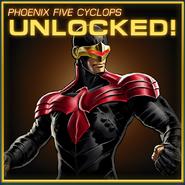 Cyclops Phoenix Five Unlocked