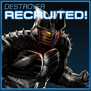 Destroyer Recruited