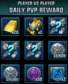 PVP Daily Rewards T03