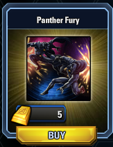 Panther Fury Welcome Back Screen