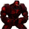 Crimson Dynamo Portrait Art