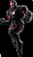 Incursion Iron Man Portrait Art