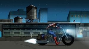 Caps's bike