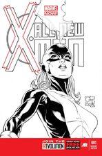 All New X-Men 1 Quesada Sketch Variant