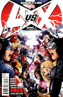 Avengers vs X-Men Vol 1 1 (2nd Printing Variant)