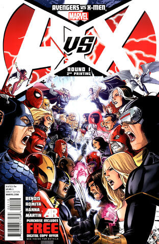 File:Avengers vs X-Men Vol 1 1 (2nd Printing Variant).jpg