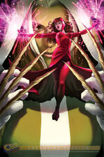 Scarlet Witch Up Against Rogue in McNiven's Uncanny Avengers 14 Cover