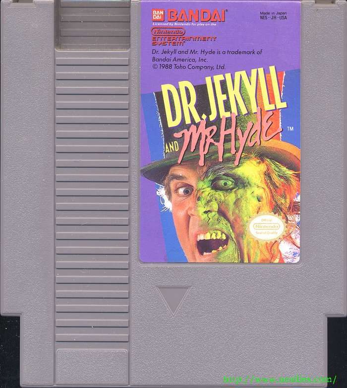 Dr. Jekyll and Mr. Hyde | Angry Video Game Nerd Wiki | Fandom ...