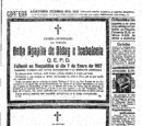 Esquela de Concepcion Fernández Haro 5 de Enero de 1918