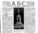 Boceto Monumento Pedro Menendez 5 de Mayo de 1916