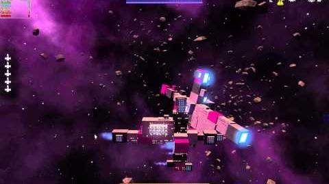 Avorion Dev Footage Updated physics 4