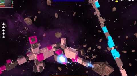 Avorion Dev Footage Updated physics 3