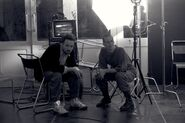 Fincher on set 02