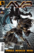 Aliens vs. Predator Three World War Special Edition Cover