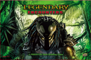 Legendary Encounters- A PREDATOR Deck Building Game (2015)