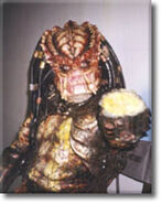 David Smith in Predator costume