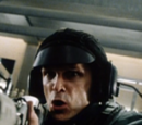 Soldier shot through helmet