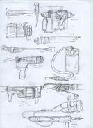 Bolt gun concept art 2