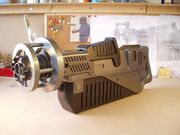 Piton gun after first paint