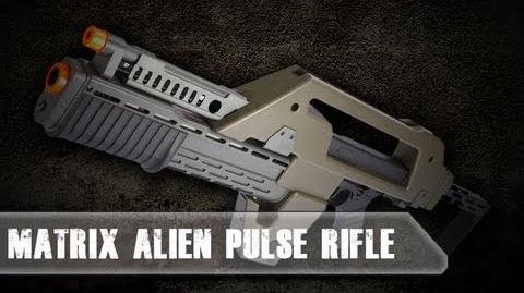 Airsoft Evike.com- Matrix Alien Pulse Rifle