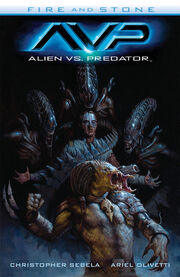 Alien vs. Predator- Fire and Stone TPB