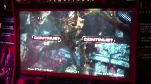 Aliens Armageddon - IAAPA 2013 - Arcade Heroes