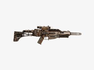 BlasTech EL-16HFE blaster rifle