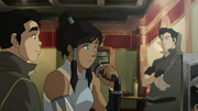 Korra and Tenzin radio.png
