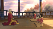 Korra fails at meditating.png