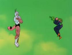 Frieza Deciding to Transform Against Piccolo