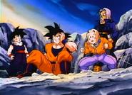 Goku After Arriving on New Vegeta
