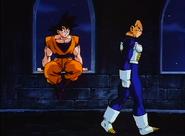 Goku Talking to Vegeta in the Broly Movie