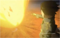 Lust Being Burned Alive by Roy Mustang's Flames in Brotherhood