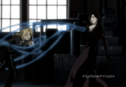 Edward Elric Trying to Force His Mother's Remains into Sloth