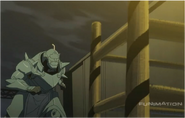 Alphonse Running Away from Gluttony