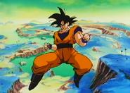 Goku After Cooler Uses Instant Transmision Against Him