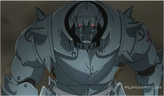 Alphonse is Determined to Defeat Kimblee With Stone