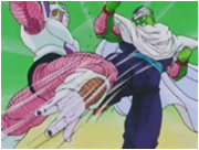 Piccolo Fighting Frieza